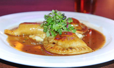 Braised Short Rib Pierogies - Photo by Andrew Russell, Tribune Review