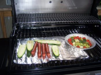 Hot Dogs with Zucchini